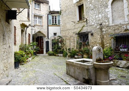 Medievel Town Of Saint Paul De Vence