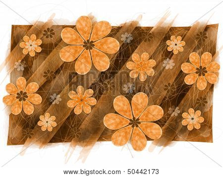 Autumn Flowers Pattern
