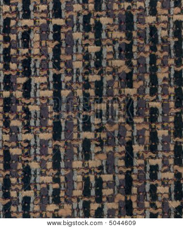 Vintage Tan Handwoven Silk Fabric Texture