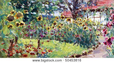 Summer Motif Painting