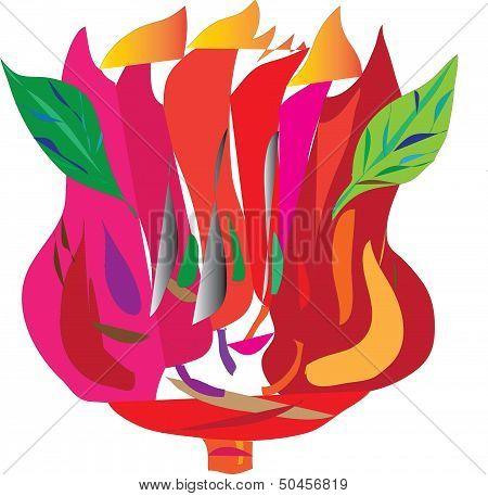 tulip, flower, plant,