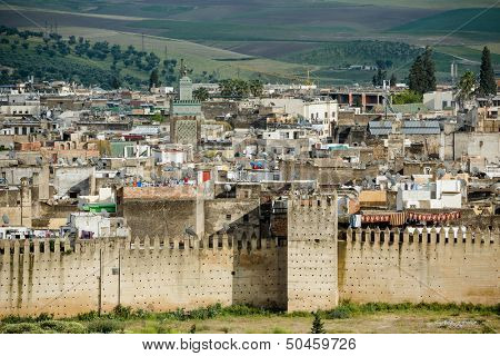 Unesco heritage medina of the Fes, Morocco