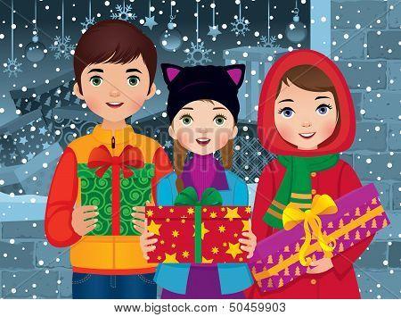 Children Enjoyed A Christmas
