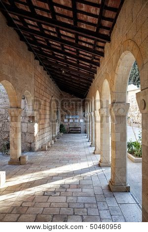 The Church of the Visitation in Ein Karem