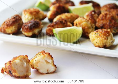 Fried Lobster Bites