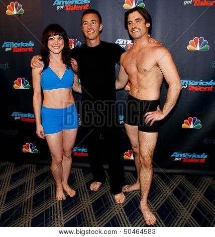 NEW YORK-SEP 4: Catapult attends the post-show red carpet for NBC's