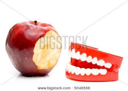 Apple And Teeth