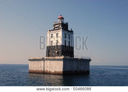 The Poe Reef Lighthouse