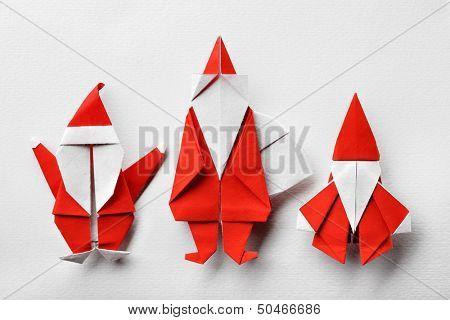 Santa claus,paper craft.