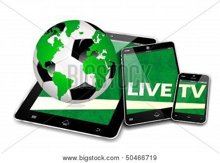 Mobile TV soccr