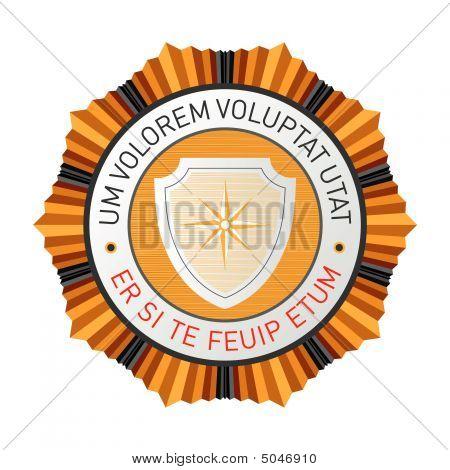 The Emblem. Vector.