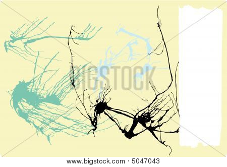 Abstract Expressionist Background
