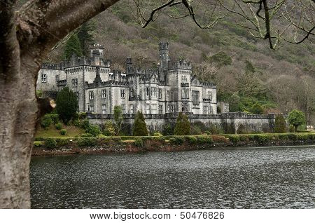 Kylemore Abbey, Connemara, Ireland - During The Winter