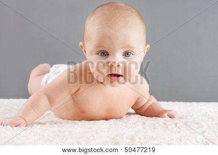 Baby Lifting Head