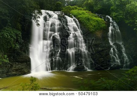 Abbey falls in the coorg region of KArnataka India