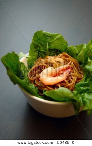 Braised Seafood Noodles
