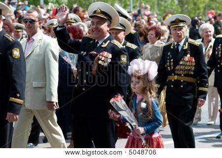 russian veteran's