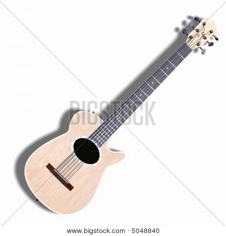 Guitar Accoustic Pine 02 A_0001