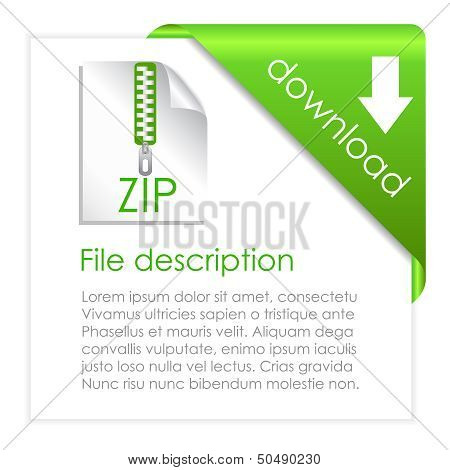 Zip archive download