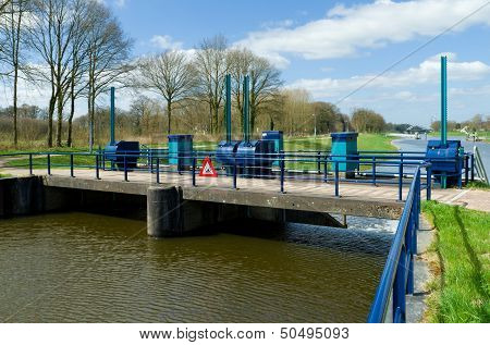 Sluice In Canal