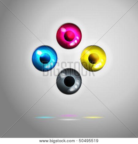 Cmyk Interface Eyes