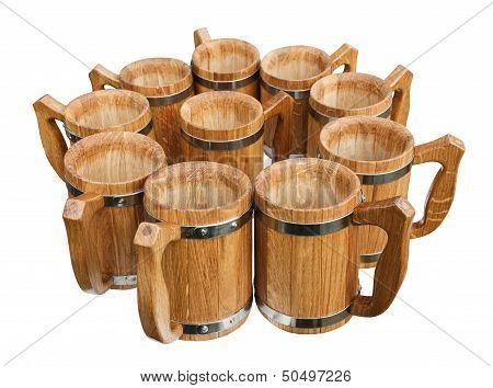 Wooden Mugs