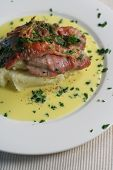 Veal Scallopini Mid Portrait poster
