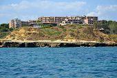 stock photo of vilamoura  - Beach Aveiros Albufeira Algarve Portugal summer sea - JPG