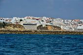 pic of vilamoura  - Beach Peneco Albufeira Algarve Portugal summer sea  - JPG