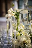 picture of ceremonial clothing  - Image of a beautifully decorated wedding venue - JPG