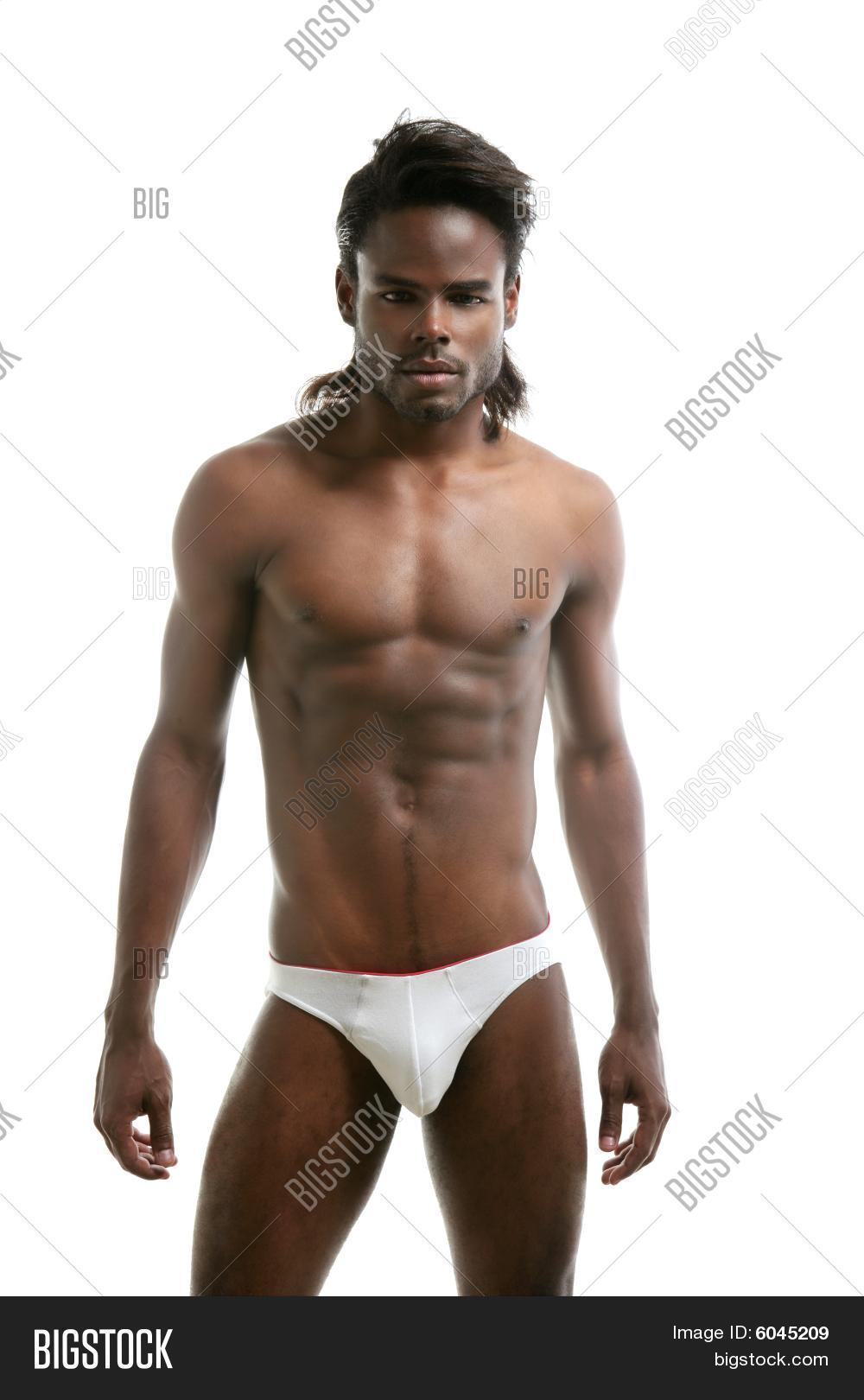 african nude male model