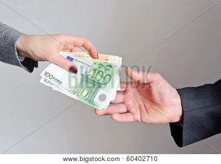 Transfer Money From Hand To Hand