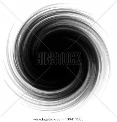 Swirl element for design. Vector illustration.