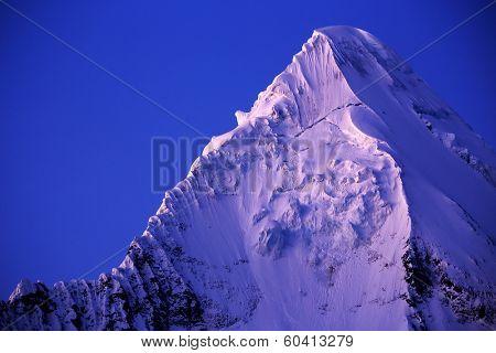 Artesonraju Peak (6025m) in Cordilera Blanca, Peru, South America