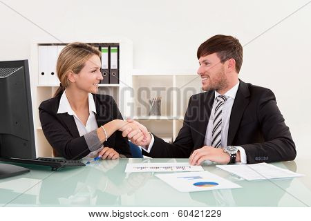 Meeting For Joint Business Venture
