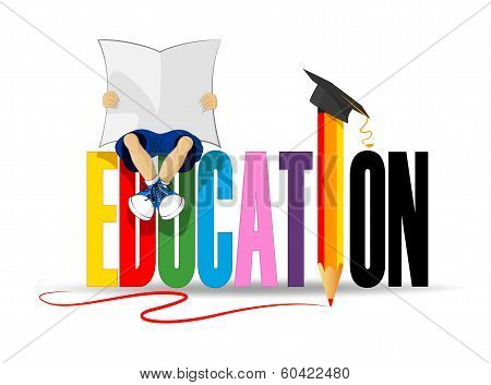 Cute Education Icon