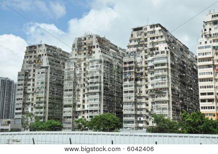 Hongkong Condominium Crowded
