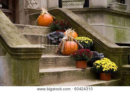 Harvest Home Front Stoop