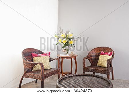 Garden Furniture With Table