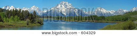 Panorama de Teton