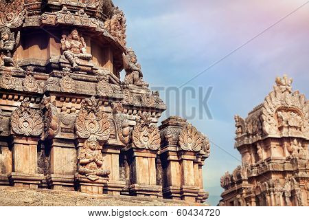 Hindu Temple In Hampi