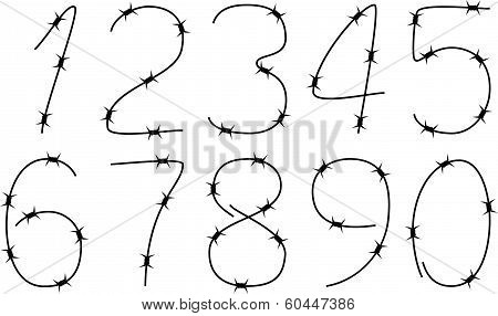 Barbed Numbers