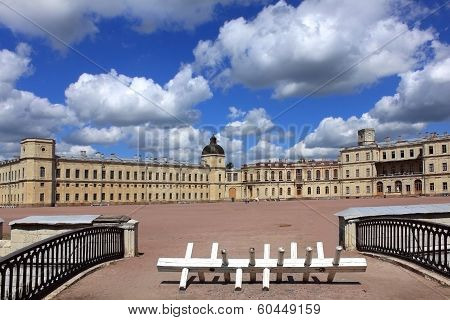 Palace in Gatchina, Russia