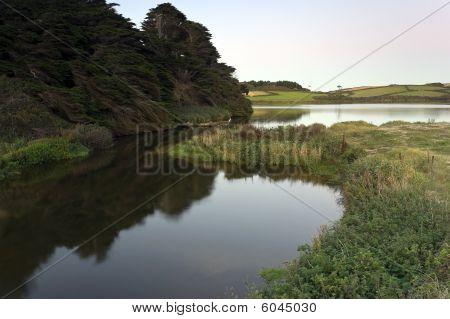 Loe Pool Cornwall