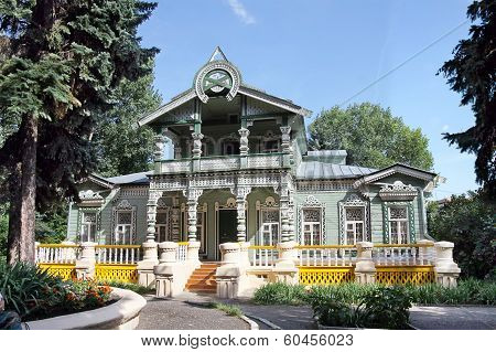 Carved  Wooden House