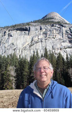 Smiling Senior at Yosemite National Park