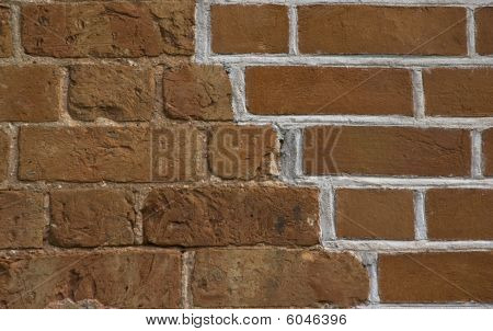 Renovated Old Brickwall