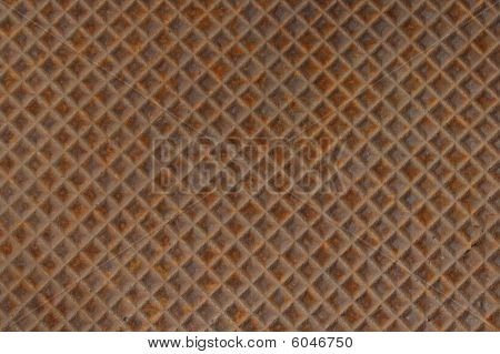 Rusted Metal Cover