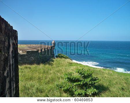 Ocean view from Castillo de San Cristobal
