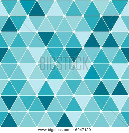 Winter triangle pattern background